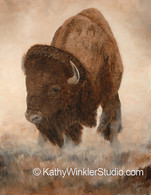 """All About Me"" Juvenile Bison"