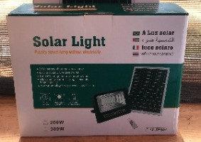 Foco Solar 200W