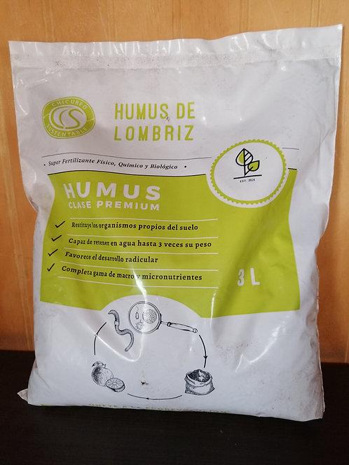 Humus de Lombriz 3L