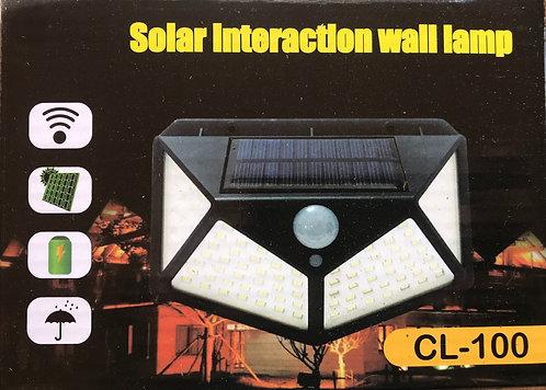 Apliqué solar con sensor