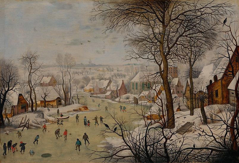 Peisaj de iarna - Pieter Bruegel II