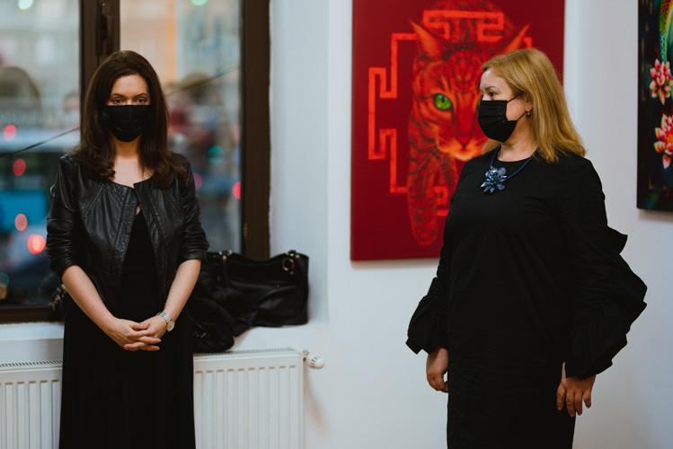 "Opening Jeanina Rat at ""Fine Art Vison 20/20"" exhibition"