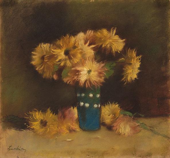 Vas cu Crizanteme - Stefan Luchian