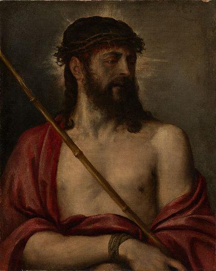 Ecce Homo -  Tiziano Vecellio (Titian)