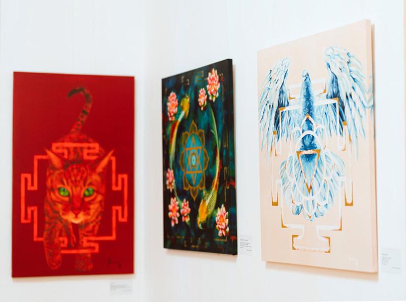 """""""The Greatness of Yantras"""" reproduceri digitale realizate de studioul Fine Art Imaging București"""