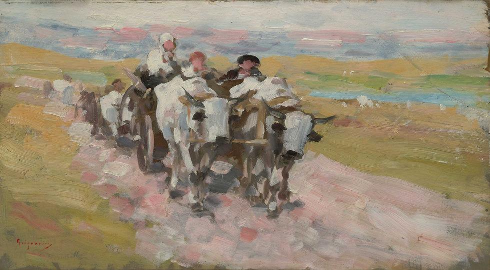 Car cu boi - Nicolae Grigorescu