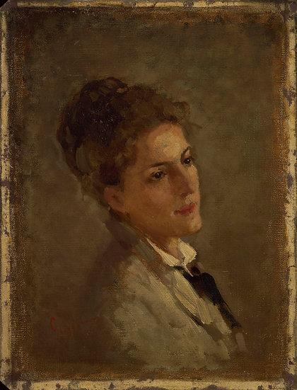 Portretul Alexandrinei Filionescu - Nicolae Grigorescu