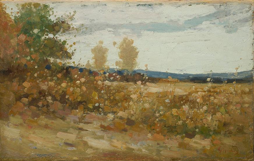 Peisaj de Campie - Nicolae Grigorescu