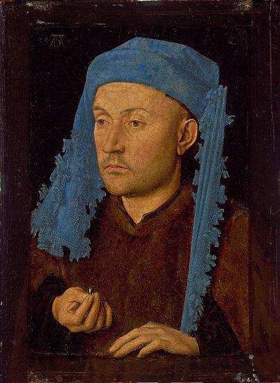 Omul cu tichie albastra - Jan van Eick