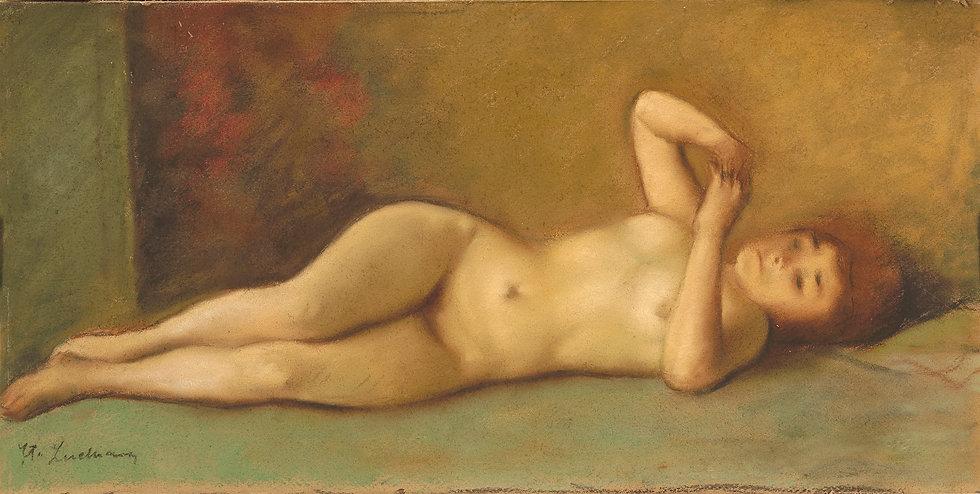 Nud Culcat - Stefan Luchian