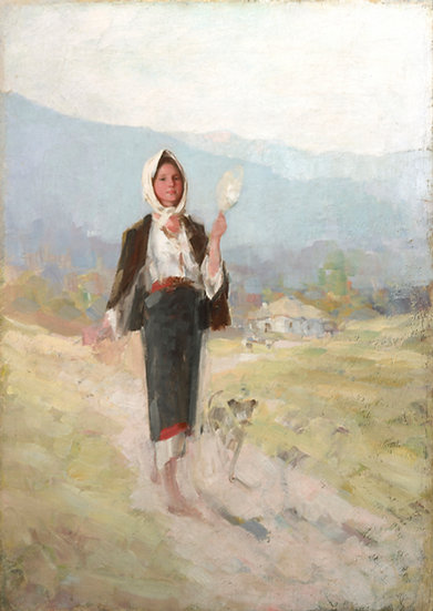 Taranca cu Furca - Nicolae Grigorescu