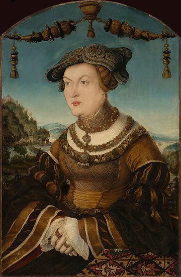 Ducesa Jacoba de Baden (1507-1580) - Hans Schwab von Wertinger