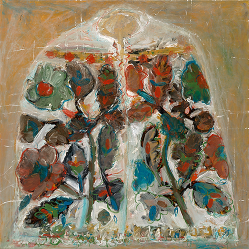 """IE ROMÂNEASCĂ - Colectie """"Mir și borangic"""" / Giclée on canvas"""