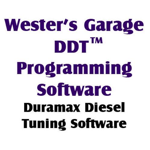 DDT(TM) Programming Software