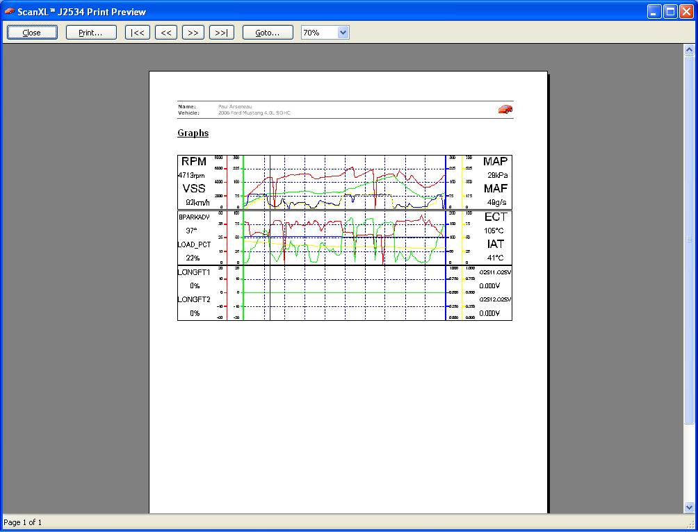 Graphs Print Preview