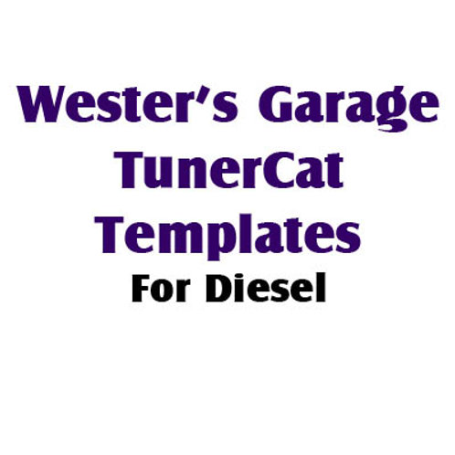 TunerCat Templates for Diesel