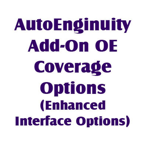 Add-On OE Coverage Options (Enhanced Interface Options)