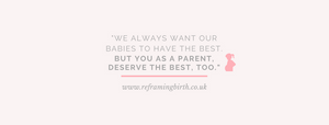 hypnobirthing, pregnancy, quote, parent, baby