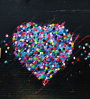 Graffiti di cuore