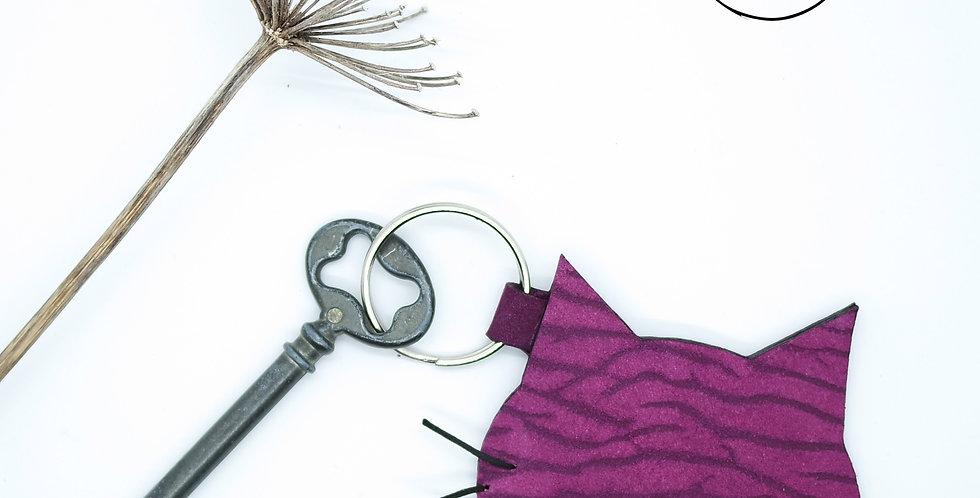 """Porte-clés """"Chat du Cheshire"""""""