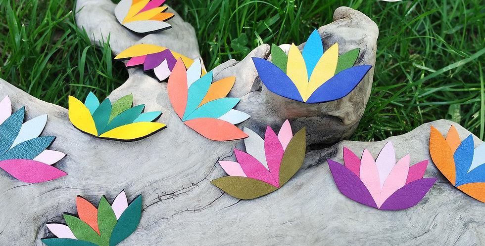 Broche Fleurs de Lotus de Printemps