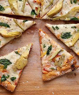 Fresh Artichoke Pizza