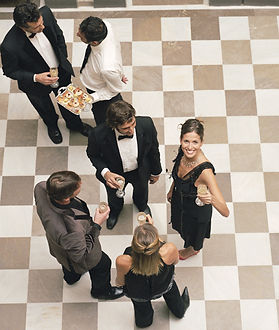 Wedding and Event chequered dance floors