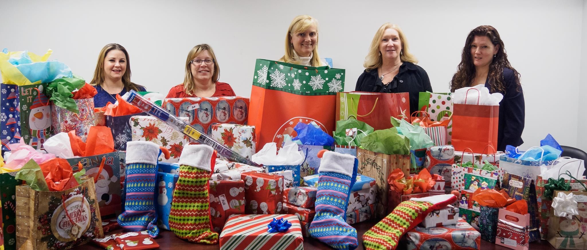 Holiday gift donations