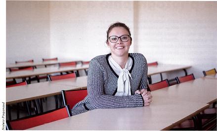 Emilie Orliange, doctorante en Comportement du Consommateur, spécialiste des pratiques culinaires des adolescents