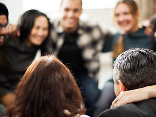 Sober Bereavement with a Support Team