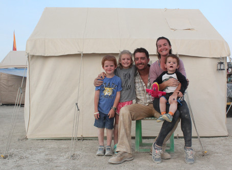 Burning Man with Kids