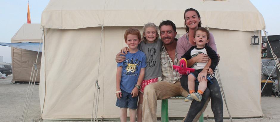 Burning Man with Kids