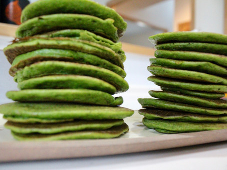Kid-Approved Spinach Pancakes