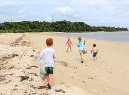 Kids And Conservation (And a Beach Clean Up, Too!)