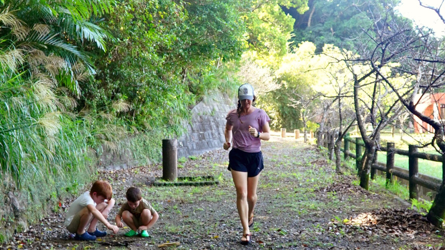 Staying Active with Kids