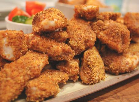 Quick, Easy, & Gluten-Free Chicken Nuggets