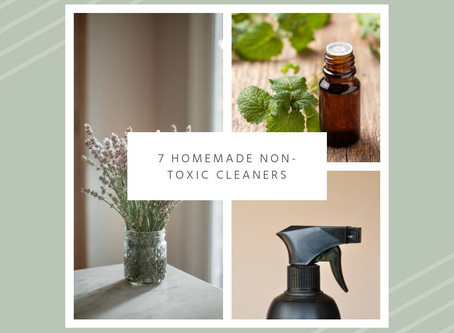 7 Homemade Non-Toxic Cleaners