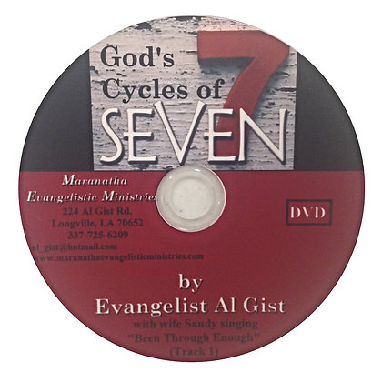 """God's Cycles of Seven"" (D)"