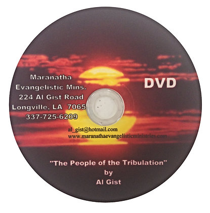 """People of the Tribulation"" (D)"