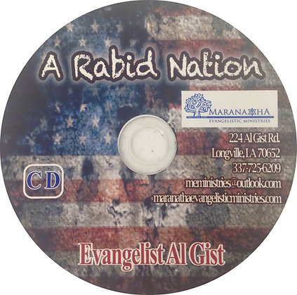 """A Rabid Nation"""