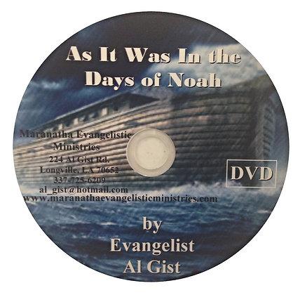 """""""The Days of Noah"""" (D)"""