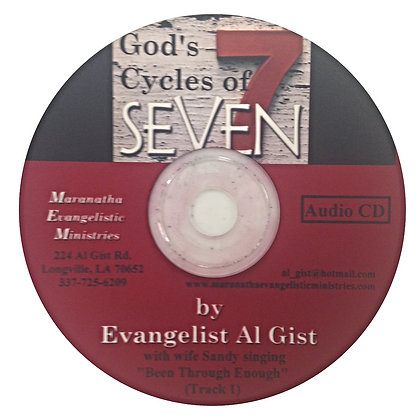 """""""God's Cycles of Seven"""" (C)"""