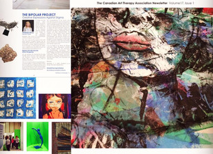 Canadian Art Therapy Association - Bipolar Projects