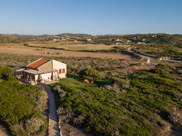 Casa Ginepro from above