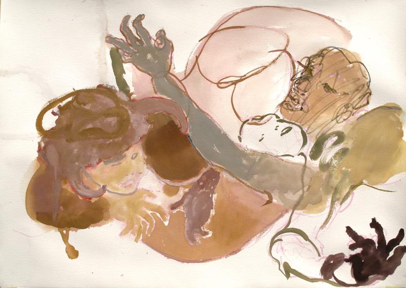 Les matins chairs - (65x92 cm)