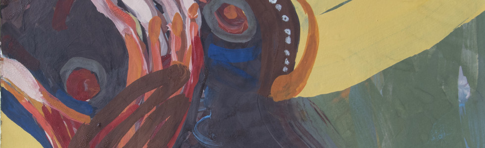 La soeur du ruisseau (46x38 cm)