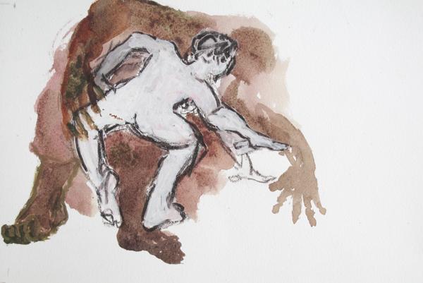 Le murmure (20x30 cm)