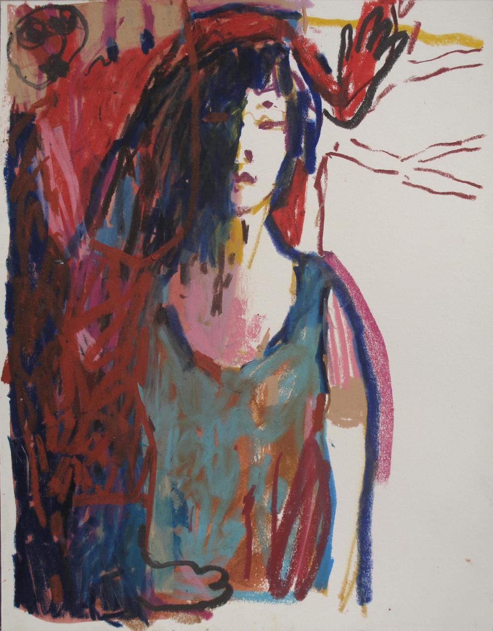 Colorclown (24)  (35x27,5 cm)