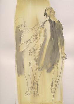 Victorio Gasmann dans  Parfum de femme - (92x65 cm) - Copie