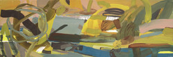 Brassens à Sète (40x120 cm)